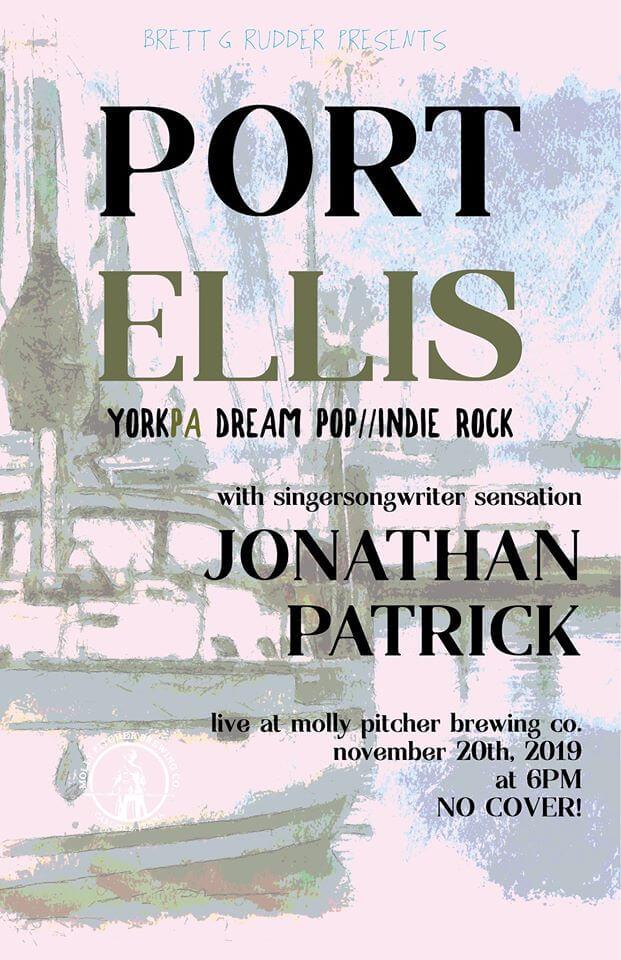 LIVE @ Molly Pitcher UPSTAIRS – Port Ellis Hero Image
