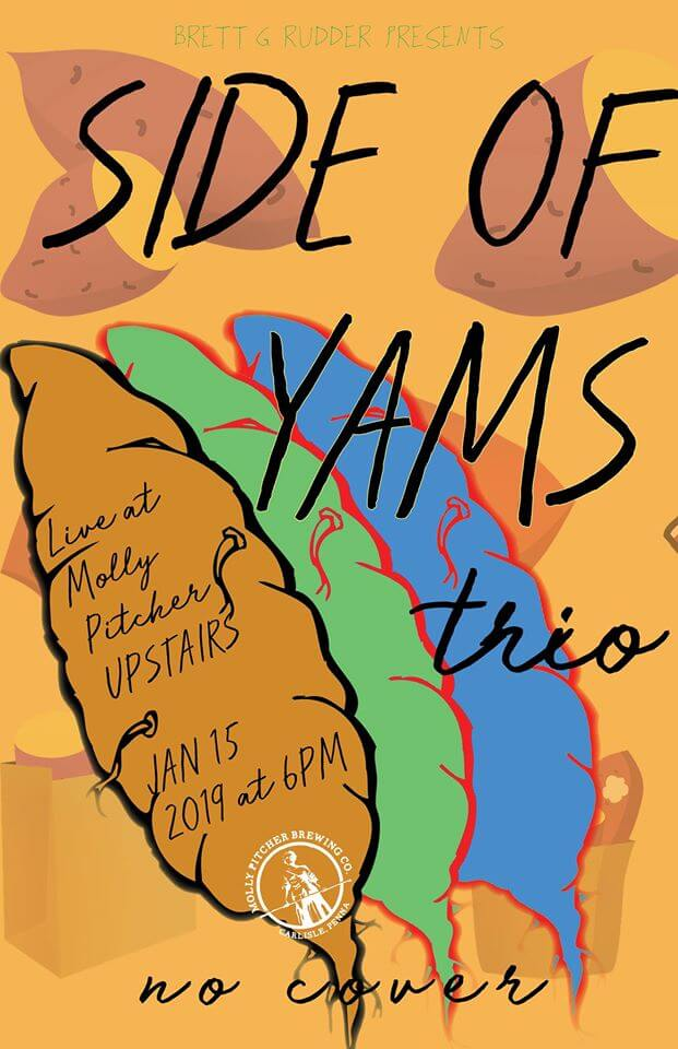 LIVE @ Molly Pitcher UPSTAIRS – Side of Yams Hero Image